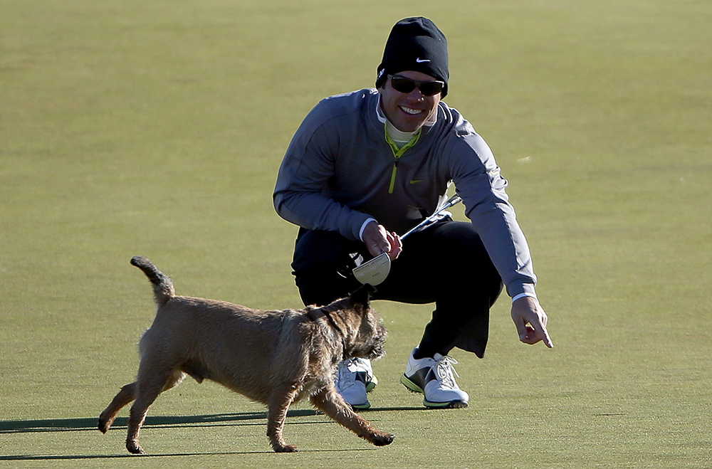 A dog's life for Paul Casey