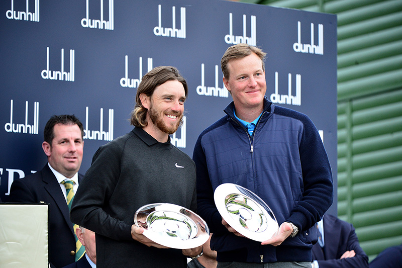 Tommy Fleetwood and Ogden Phipps