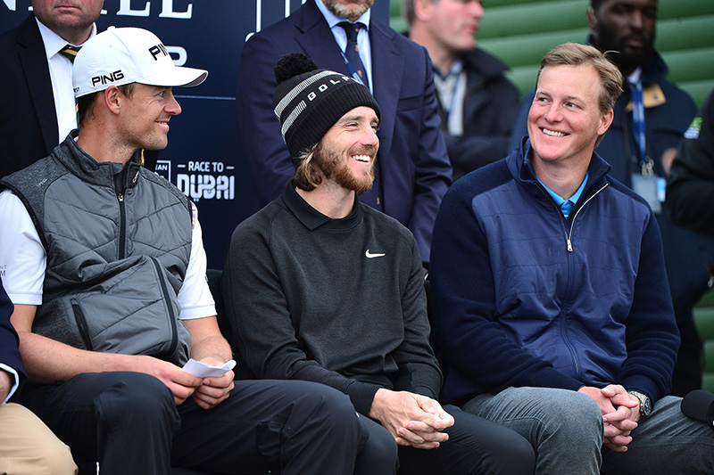 Vincent Perez, Tommy Fleetwood and Ogden Phipps