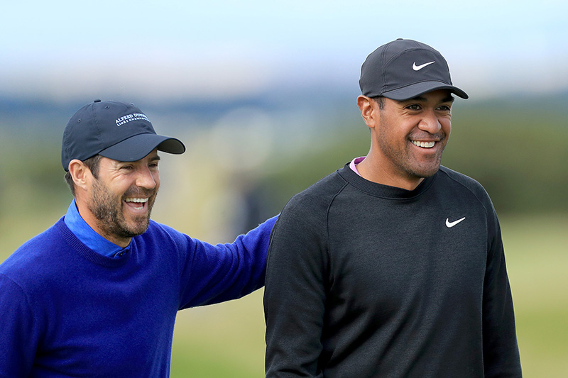 Jamie Redknapp and Tony Finau