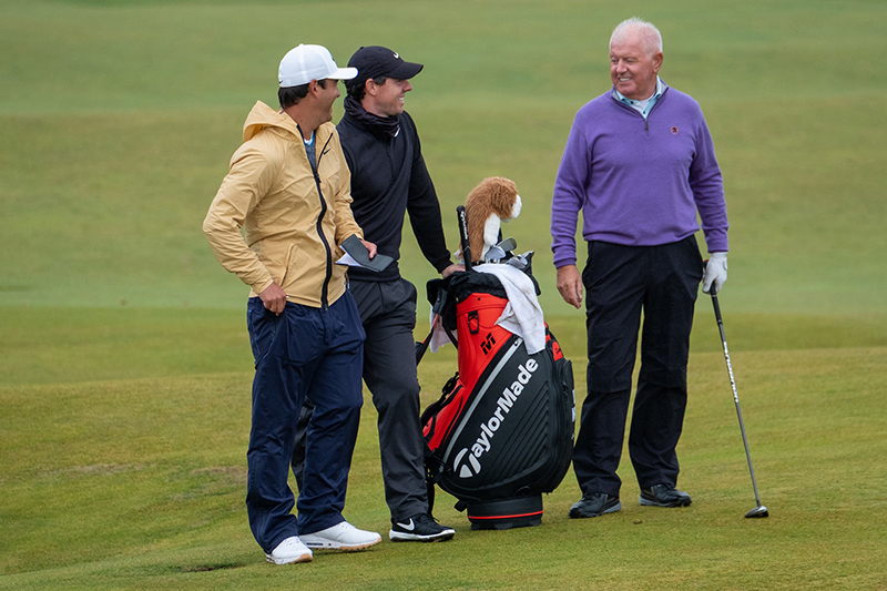 Harry Diamond, Rory McIlroy, Gerry McIlroy