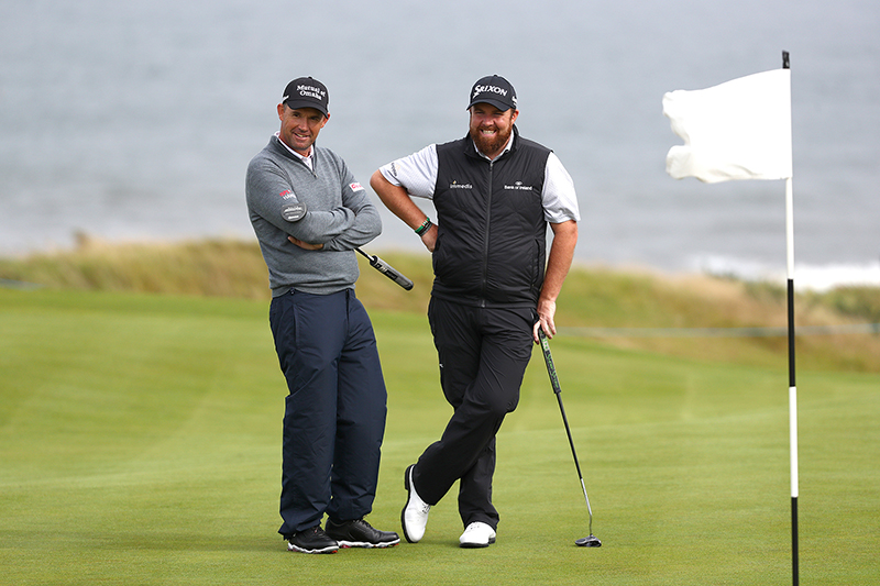 Padraig Harrington and Shane Lowry