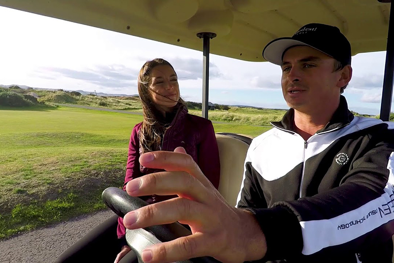 Buggy Ride: Young Pro Christiaan Bezuidenhout at the Alfred Dunhill Links