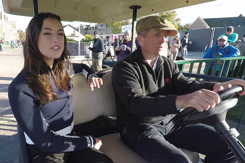 Buggy Rides: With Hugh Grant at the 2018 Alfred Dunhill Links Championship