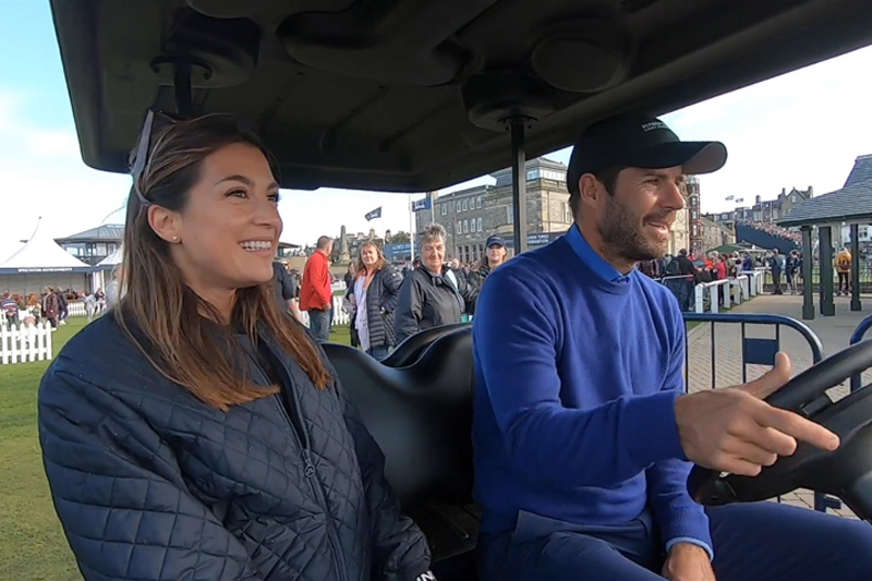 Jamie Redknapp Buggy Ride