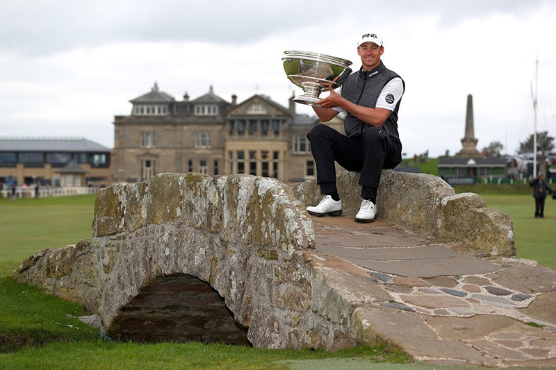 Victor Perez - winner of the Alfred Dunhill Links Championship 2019